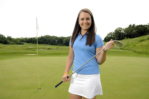 Farmington High School's Kelly Whaley is the All-Courant golfer of the year.