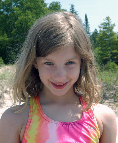 """The lake is fun for swimming and finding Petoskey stones is good.""  -- Kaya Schell, 7, of Woodhaven"