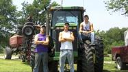 "Cattle and crops are giving Magic Mike a run for his money in a new video parody of the LMFAO hit ""I'm Sexy and I Know It"" — except now it's ""I'm farming and I grow it"" and the stars are a trio of farm-raised brothers from Kansas."