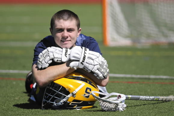 Simsbury senior attack Trevor Gallagher