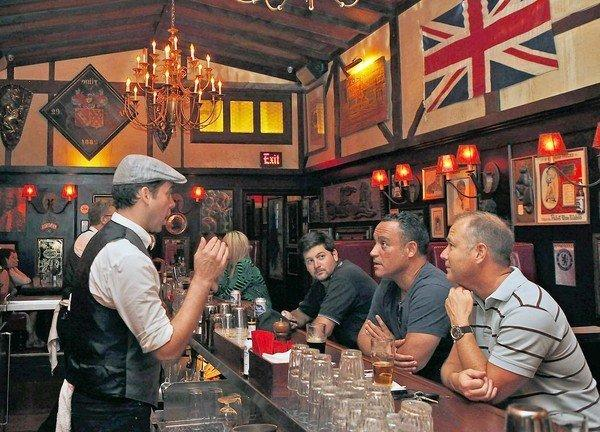 The Pikey in Hollywood isn't a gastropub. It's a pub, just with better food.