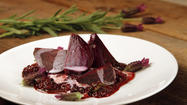 Recipe: Beets with lavender and crushed blackberries
