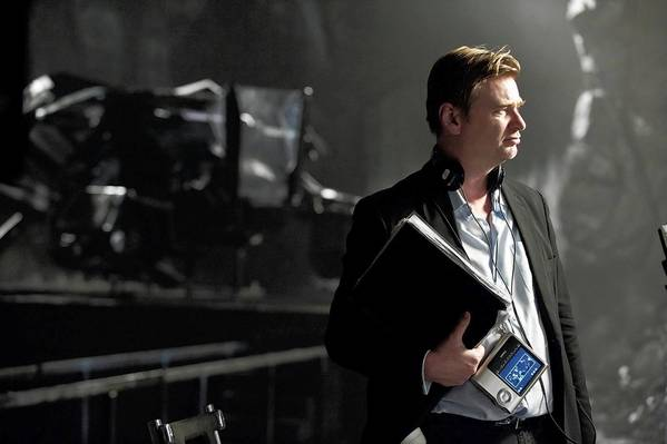 """Dark Knight Rises"" director Christopher Nolan."
