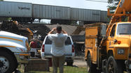 Trains back on tracks after derailment