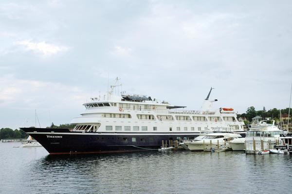Charlevoix Port Of Call For Yorktown Cruises Schurzpetoskeynews - Cruise ship yorktown