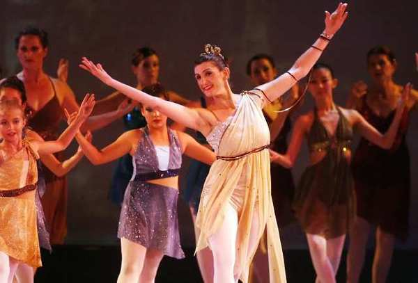 70 dancers from Media City Dance, from age 3 to 70, perform Atlantis at Burroughs High School in Burbank.
