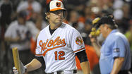 Mark Reynolds in today's Orioles starting lineup, Chris Davis is not