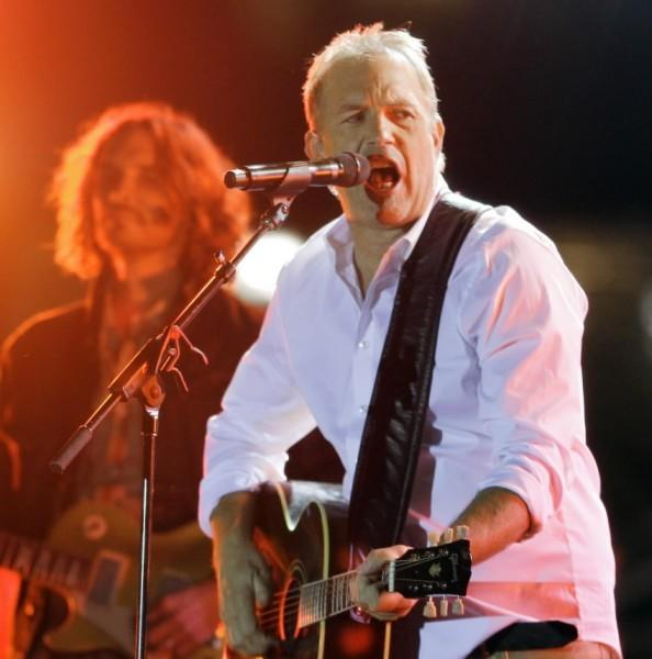 Kevin Costner & Modern West will perform at Arcada Theater in St. Charles July 14, 2012.