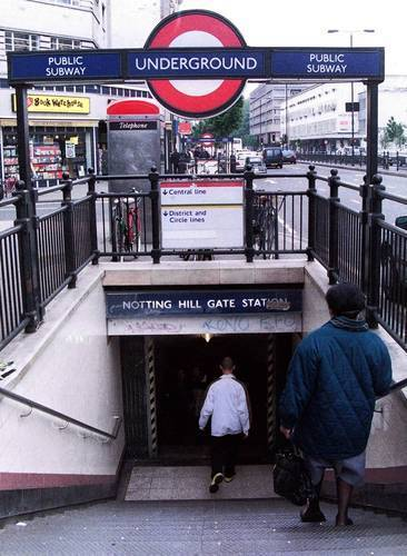 The Tube is one way to navigate London.