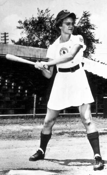 """Doris Sams and others in the All-American Girls Baseball League inspired the film """"A League of Their Own."""""""
