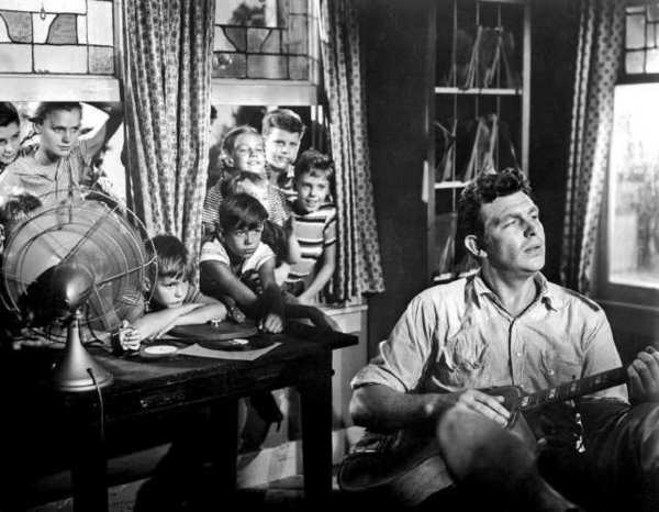 "Andy Griffith in ""A Face in the Crowd"" from 1957."