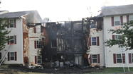 Fire displaces 40 people from Laurel apartment building