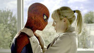 "Hordes of moviegoers were bitten by the ""Spider-Man"" bug this weekend, as the superhero flick flew to the top of the box office."