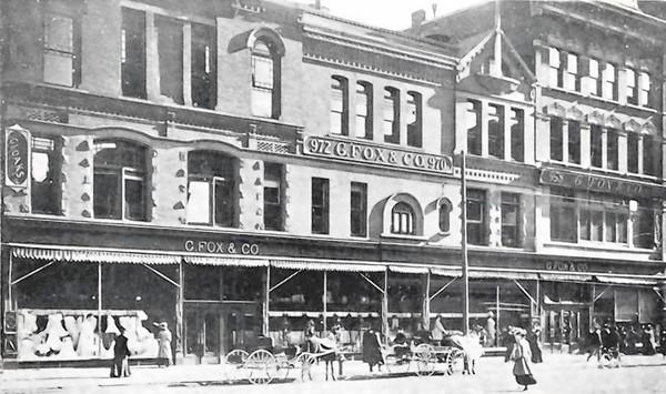 G. Fox & Co. Department Store building, Main St. Hartford.