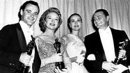 Ernest Borgnine with his Oscar