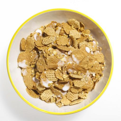 Fill up on high-fiber carbs, such as brown rice and wheat bran.