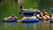 Tubing on Gunpowder River [Pictures]