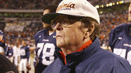 Dr. Frank McCue III, the University of Virginia athletics physician for more than 40 years, died Sunday at age 82.