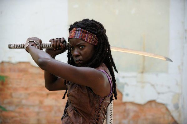 Michonne is undefeated at Swords