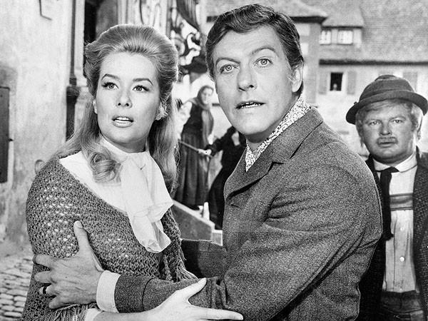 "Sally Ann Howes and Dick Van Dyke in ""Chitty Chitty Bang Bang."""