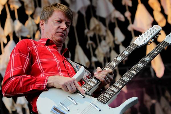 Nels Cline plays with Wilco on Sunday night.