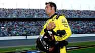 Penske Racing says Sam Hornish Jr. will replace suspended driver AJ Allmendinger this weekend at New Hampshire.