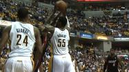 INDIANAPOLIS - One of the most popular members of the Indiana Pacers will likely be stying for years to come.