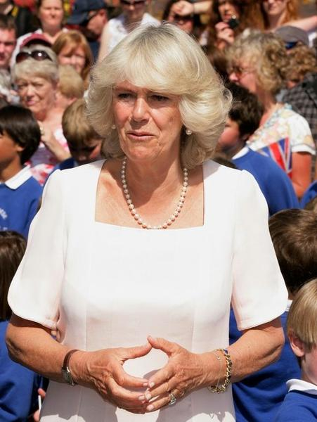 Duchess of Cornwall Camilla Parker Bowles, second wife of Prince Charles, is 64. (1947)