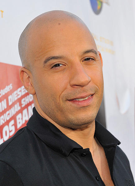 He's got the brains and the brawn.  Hunky actor Vin Diesel celebrates his 44th birthday today.