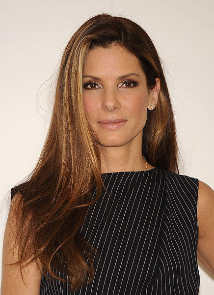 The ultimate girl-next-door, actress Sandra Bullock, turns 46 today.
