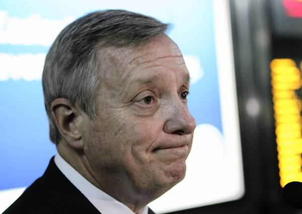 Sen. Dick Durbin said Jesse Jackson Jr. will soon have to tell people about the nature of his medical situation.