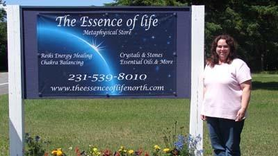 Marianne Keller owns The Essence of Life, a new metaphysical store in Levering.