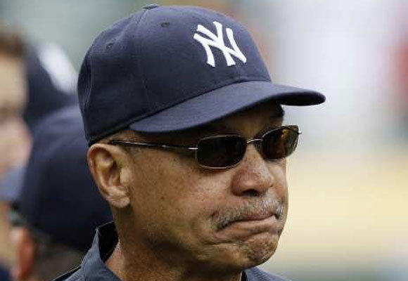 Reggie Jackson at Yankee Stadium in May of this season.