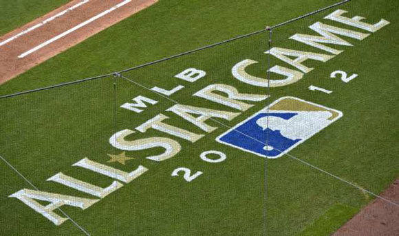 The logo for the 2012 All-Star game.