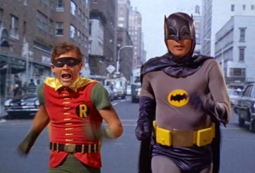 "Adam West played Batman on the television series ""Batman"" from 1966 to 1968 with Burt Ward as his sidekick Robin."