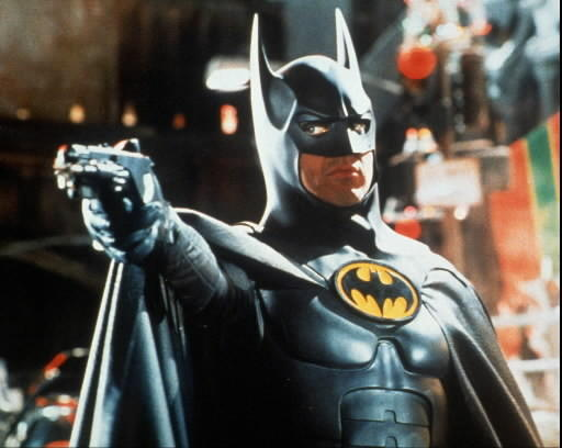 Actors Who Have Played Batman (And The Batmobiles They Drove): Michael Keaton starred in Batman in 1989 and Batman Returns in 1992. Jack Nicholson was the Joker in Batman, and Danny DeVito was the Penguin in Batman Returns.