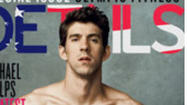 Michael Phelps has earned magazine gold: the cover of Details magazine.