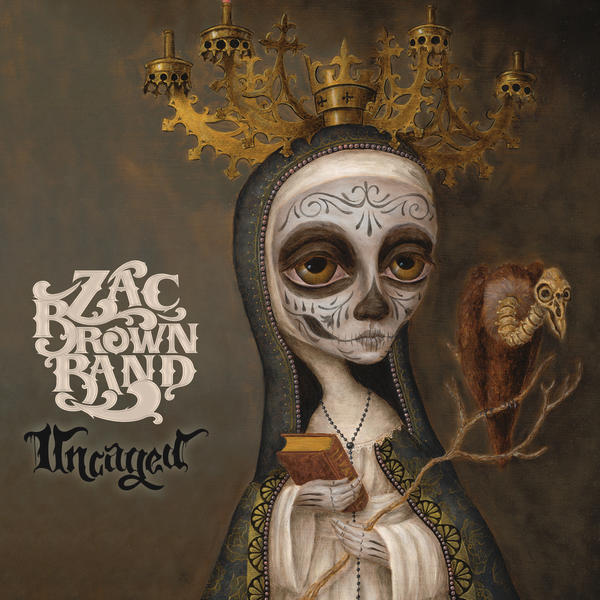 Zac Brown Band has released its third studio album, 'Uncaged'