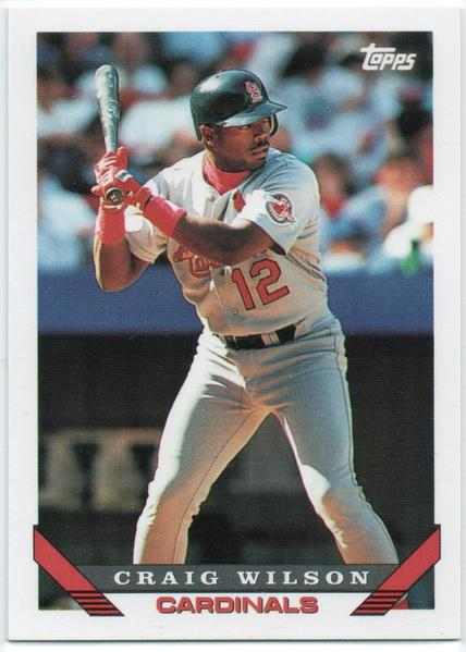 Annapolis High graduate Craig Wilson's five-year major-league career (1989-1993) included stints with the St. Louis Cardinals and Kansas City Royals, playing primarily at third base. He finished with a .251 career batting mark.