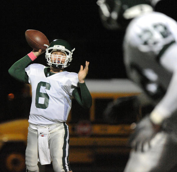 Pine Crest has joined the new Southeastern Football Conference. Pine Crest quarterback Daniel Arkin of Pine Crest throws a pass last season.