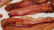"Only in minor league baseball could you find an event titled ""Salute to Bacon Night."""
