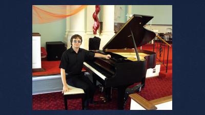 Nicholas Carroll will be performing at Trinity Lutheran Church Sunday.