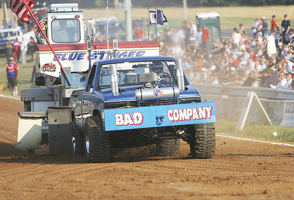 Lucas Oil East Coast Pullers and Washington County Tractor Pullers will host a national truck and tractor pull 6 p.m. Saturday, July 14, at Washington County Agriculture Education Center, 7313 Sharpsburg Pike, south of Hagerstown..