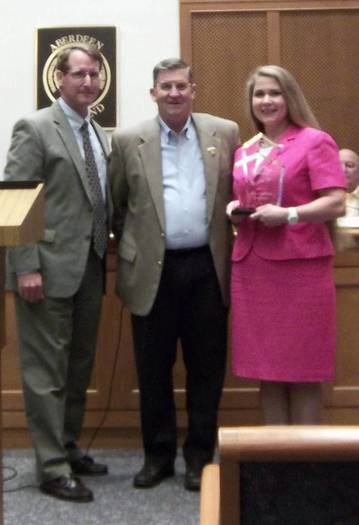 Aberdeen city clerk honored