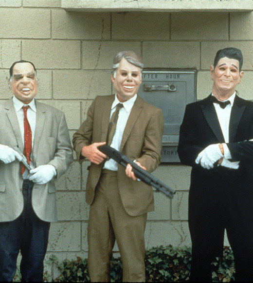"""Point Break"" turns 21 this summer, and it still has has something for everybody -- especially for those skydiving, bank robbing, adrenaline junkie surfer types who dress up in ex-president masks and aspire to ""surf themselves to death"" in a 50 year storm. The film's dialogue offers a special brand of wisdom, that's still entertaining more than two decades after the original release of ""Point Break.""<br /><br /> So go ahead and celebrate the greatness of the 1991 cult classic with a roundup of 21 favorite quotes from the likes of Keanu Reeves, Gary Busey, Patrick Swayze and more. It's totally worth it, brah. <br /><br /> <i>-- Elizabeth Brady, Zap2it</i>"
