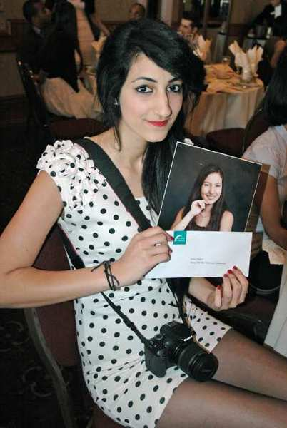 Burbank resident Delia Akbari received the Teresa Del Rio Memorial Scholarship at the Glendale Community College Honors and Awards Banquet in June at the Castaway Restaurant.