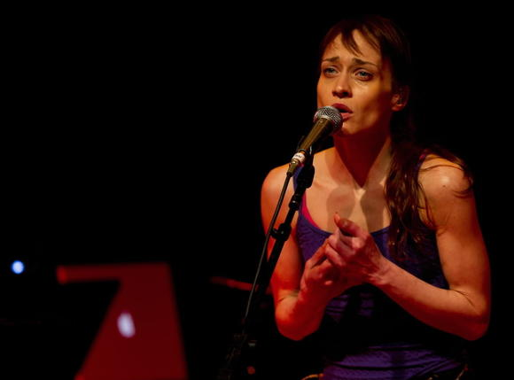 Fiona Apple performs at Lincoln Hall earlier this year.