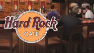 The Hard Rock Cafe is opening its first restaurant in West Michigan Wednesday morning.