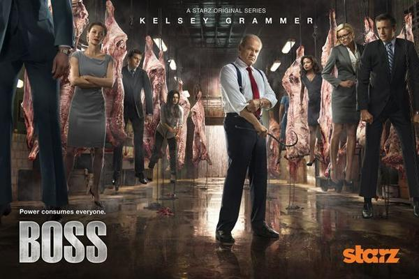 "Season 2 of ""Boss"" begins Aug. 17 on Starz."