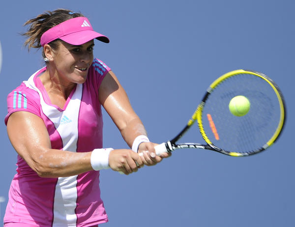 Spain's Anabel Medina Garrigues is No. 26 in the world.